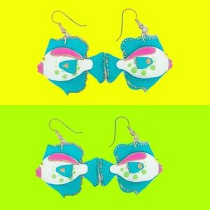 Jewelry - Colorful fish earrings